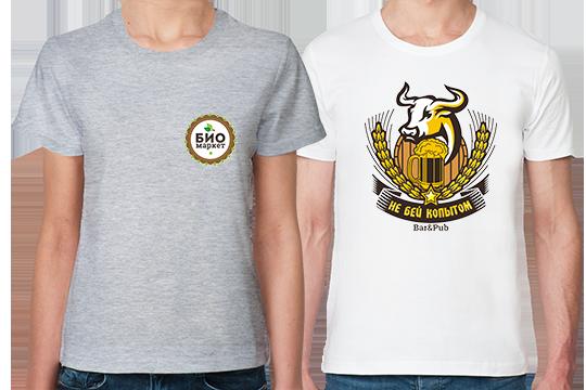 Печать на футболках логотипов и фото. Онлайн заказ 9063b7862bac6